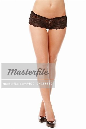 Buttocks of young woman Stock Photo - Budget Royalty-Free, Image code: 400-04165860