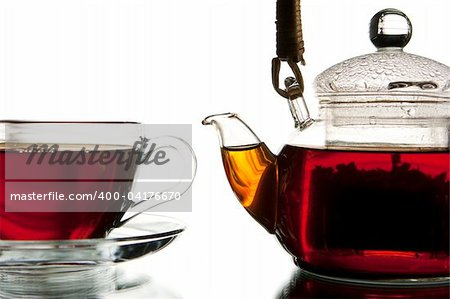 Tea service Stock Photo - Budget Royalty-Free, Image code: 400-04176670