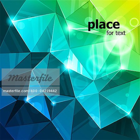 rumpled abstract background. vector illustration