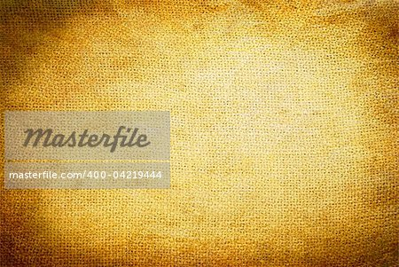 Background old  sack by a large plan Stock Photo - Budget Royalty-Free, Image code: 400-04219444