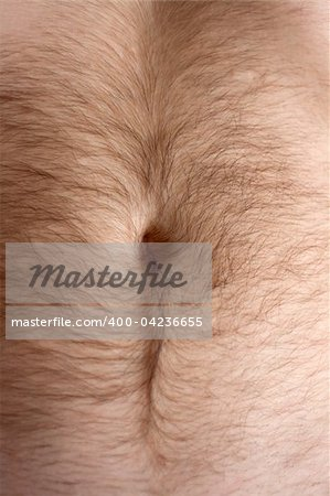 Male hairs belly, bellybutton in light from window Stock Photo - Budget Royalty-Free, Image code: 400-04236655