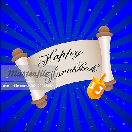 illustration of hanukkah card with stars Stock Photo - Budget Royalty-Free, Image code: 400-04265664