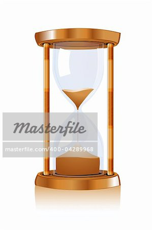 illustration of hour watch on white background Stock Photo - Budget Royalty-Free, Image code: 400-04289968