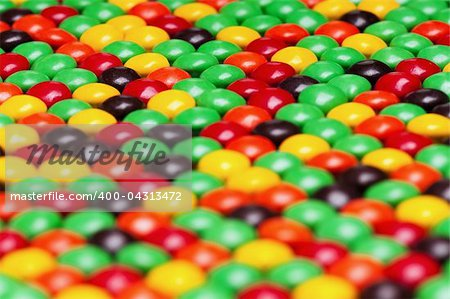 Background of colorful candies coated chocolate sweets Stock Photo - Budget Royalty-Free, Image code: 400-04313472