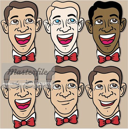 Faces Stock Photo - Budget Royalty-Free, Image code: 400-04313771