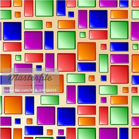 vector seamless bright tile texture, clipping mask