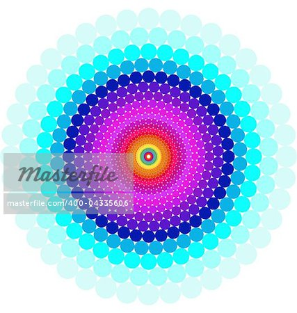 Abstract design with geometric shapes optical illusion illustration Stock Photo - Budget Royalty-Free, Image code: 400-04335606