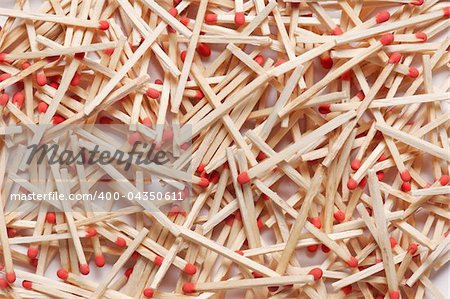 Many new matches in random spread for background Stock Photo - Budget Royalty-Free, Image code: 400-04350611