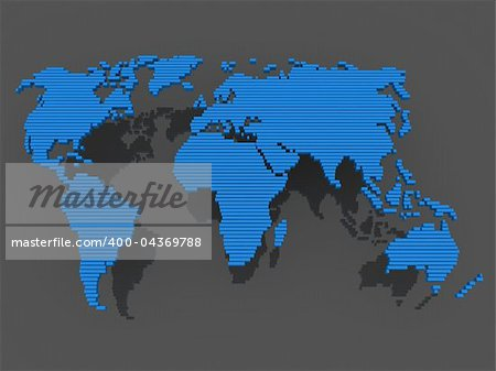 world, map , earth, europe, america, africa, blue Stock Photo - Budget Royalty-Free, Image code: 400-04369788