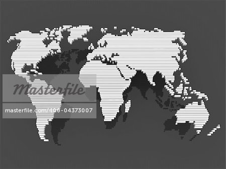world, map , earth, europe, america, africa, asia Stock Photo - Budget Royalty-Free, Image code: 400-04373007