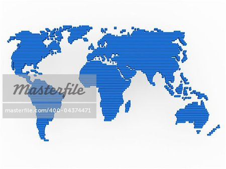 world, map , earth, europe, america, africa, blue Stock Photo - Budget Royalty-Free, Image code: 400-04374471