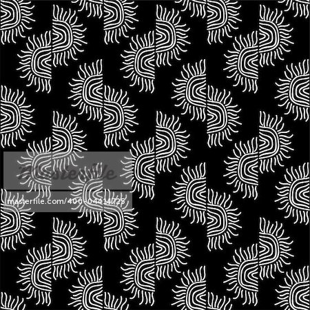 hand drawn seamless pattern background Stock Photo - Budget Royalty-Free, Image code: 400-04414725