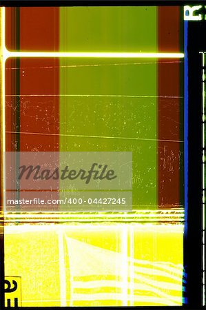 Piece of 35 mm motion film Stock Photo - Budget Royalty-Free, Image code: 400-04427245