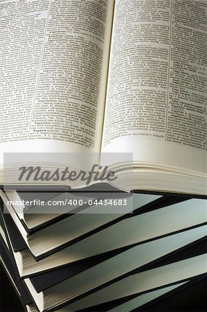Opened book Stock Photo - Budget Royalty-Free, Image code: 400-04434683