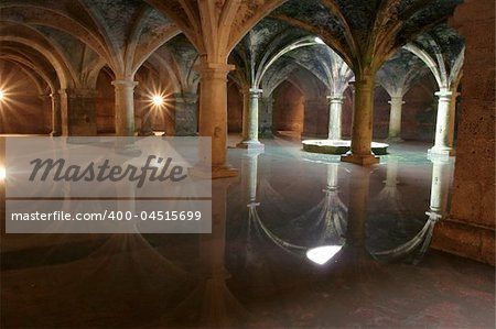 Mystical vaults of UNESCO world heritage object in Morocco, El Jadida, Africa. Popular place for tourists and travellers. Stock Photo - Budget Royalty-Free, Image code: 400-04515699