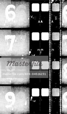 Grunge film frame ,2D digital art Stock Photo - Budget Royalty-Free, Image code: 400-04516231
