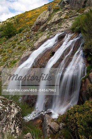 Chorrera de los Litueros, Somosierra, Madrid (Spain) Stock Photo - Budget Royalty-Free, Image code: 400-04567961