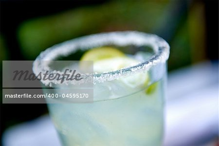 An image of a Margarita with salt Stock Photo - Budget Royalty-Free, Image code: 400-04595170
