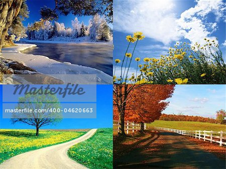 seasons collection Stock Photo - Budget Royalty-Free, Image code: 400-04620663