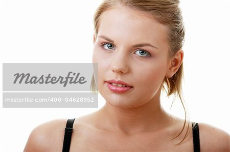 The young casual girl in underwear Stock Photo - Budget Royalty-Free, Image code: 400-04628952