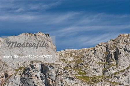 Teleferic of Fuente De, Cantabria (Spain) Stock Photo - Budget Royalty-Free, Image code: 400-04636751