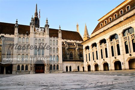 Guildhall building and Art Gallery in City of London Stock Photo - Budget Royalty-Free, Image code: 400-04654041