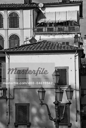 Architecture and Arts Detail of Lucca in Tuscany, Italy Stock Photo - Budget Royalty-Free, Image code: 400-04699942