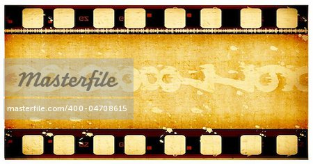 Grunge film frame ,2D digital art Stock Photo - Budget Royalty-Free, Image code: 400-04708615