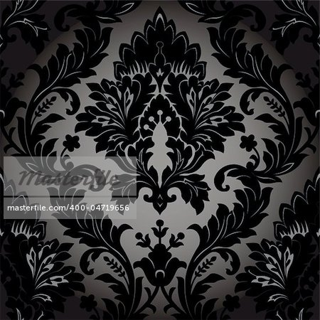 Seamless wallpaper background. Vector illustration Stock Photo - Budget Royalty-Free, Image code: 400-04719656