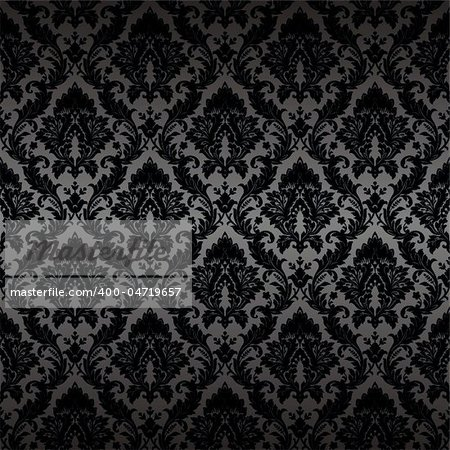 Seamless wallpaper background. Vector illustration Stock Photo - Budget Royalty-Free, Image code: 400-04719657