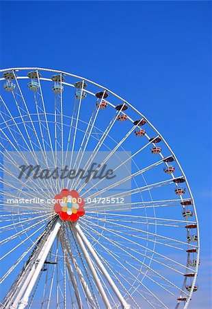 The big wheel from Prater, Viena Stock Photo - Budget Royalty-Free, Image code: 400-04725512