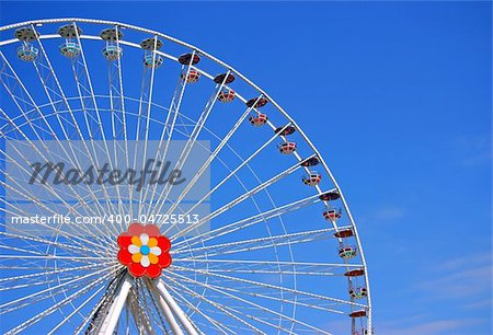The big wheel from Prater, Viena Stock Photo - Budget Royalty-Free, Image code: 400-04725513