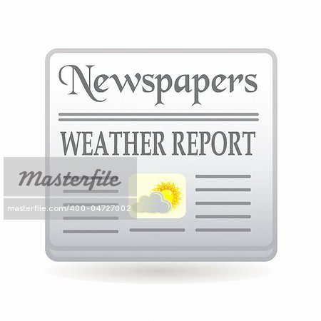 newspapers weather report
