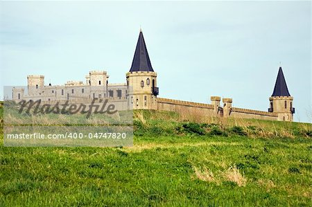 Castle near Lexington, Kentucky, USA. Stock Photo - Budget Royalty-Free, Image code: 400-04747820