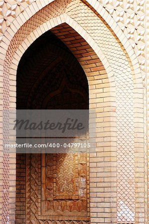 Brick arch of a typical Islamic building Stock Photo - Budget Royalty-Free, Image code: 400-04797105