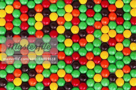 Background of colorful candies coated chocolate sweets Stock Photo - Budget Royalty-Free, Image code: 400-04809518