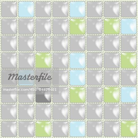 ceramic tiles background, abstract vector art illustration