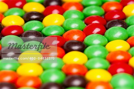 Background of colorful candies coated chocolate sweets Stock Photo - Budget Royalty-Free, Image code: 400-04832370