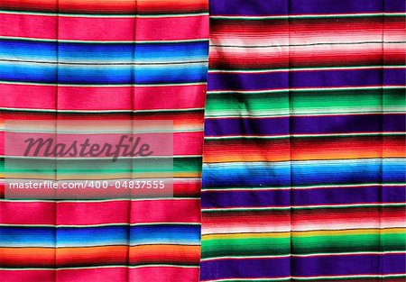 Mexican serape fabric colorful pattern texture background Stock Photo - Budget Royalty-Free, Image code: 400-04837555