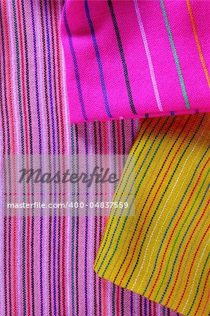 Mexican serape vibrant colorful macro fabric texture background Stock Photo - Budget Royalty-Free, Image code: 400-04837559