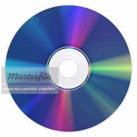 A Bluray Disc with the typical appearance Stock Photo - Budget Royalty-Free, Image code: 400-04847891