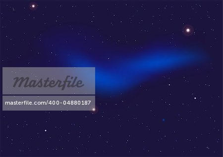 Abstract Background - Dark Night Sky Full of Stars Stock Photo - Budget Royalty-Free, Image code: 400-04880187