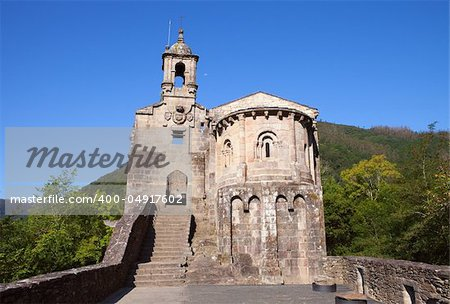 Beautiful monastery in Spain on a blue sky Stock Photo - Budget Royalty-Free, Image code: 400-04917602