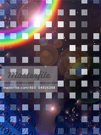 Binary Abstract Stock Photo - Budget Royalty-Free, Image code: 400-04926348