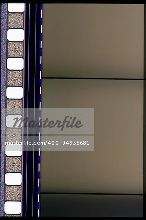 Piece of 35 mm motion film Stock Photo - Budget Royalty-Free, Image code: 400-04938681