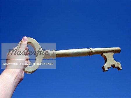 Key to success - conceptual image