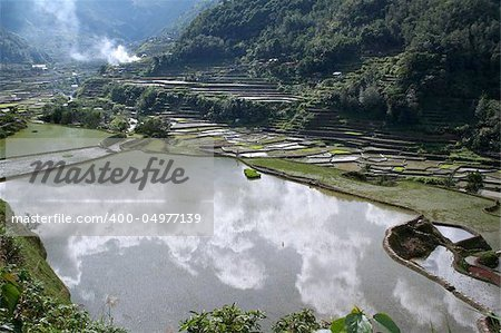 rice terraces in northern luzon the philippines Stock Photo - Budget Royalty-Free, Image code: 400-04977139