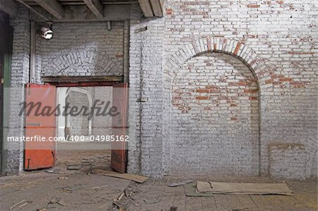 Abandoned Storehouse Building Stock Photo - Budget Royalty-Free, Image code: 400-04985162