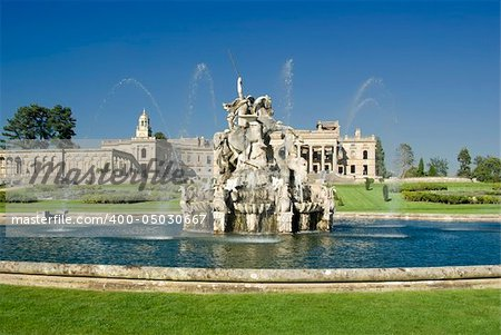 The Perseus and Andromeda fountain at Witley Court Country House Worcestershire Midlands England. Stock Photo - Budget Royalty-Free, Image code: 400-05030667