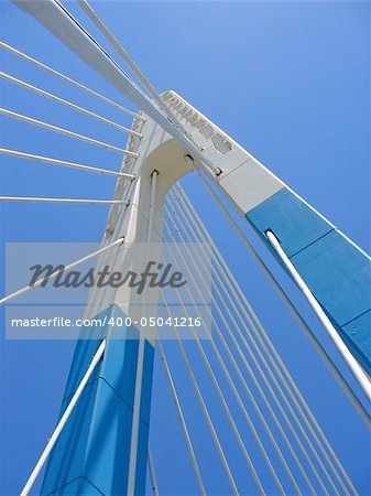 blue bridge in marbella spain Stock Photo - Budget Royalty-Free, Image code: 400-05041216